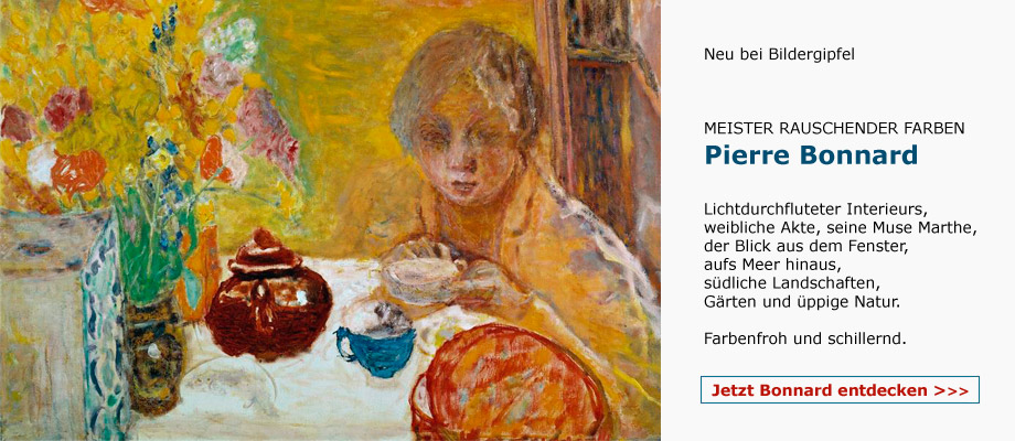 Pierre Bonnard - Meister rauschender Farben -