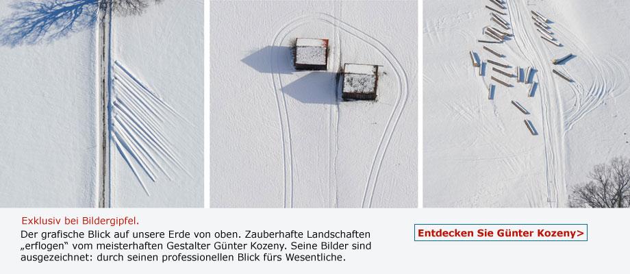 Günter Kozeny - ausgezeichnete Luftaufnahmen