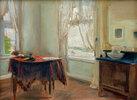 Das Zimmer des Künstlers bei Jacob in Nienstedten