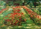 Die Blumenterrasse im Wannseegarten nach Norden