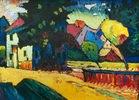 Murnau, Landschaft mit grünem Haus