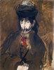 Berthe Morisot à la voilette
