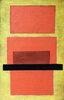 Gegenstandslose Komposition (rot und gelb)