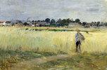 In den Kornfeldern bei Gennevilliers