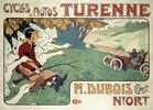 Werbung für Turenne-Automobil