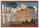 Chamonix, Hotel Cachat's Majestic / Plakat
