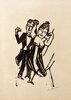 Kleines tanzendes Paar