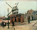 Die Mühle Le Radet an der Rue Lepic (Le Moulin de la Galette), Paris