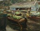 Gemüsemarkt in Delft