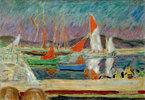 Segelboote im Hafen von Saint-Tropez