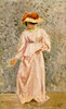 Portrait of Jeanne in a Pink Dress