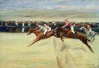 Pferderennen in den Cascinen