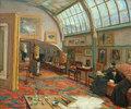 Das Atelier des Künstlers