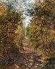 Pfad im Wald bei Pontoise