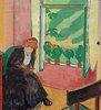 Schwarze Frau am Fenster (Marg Moll)
