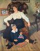 Marie Coca und Tochter