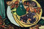 Herbststilleben mit Weintrauben