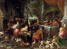 Leandro Bassano, The Rich Man and Lazarus