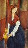 Portrait  von Jeanne Hebuterne