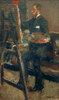 Portrait de Willy Finch au Chevalet