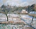 L'Hermitage, Pontoise, Schnee