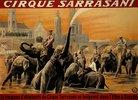 Plakat des Zirkus Sarrasani
