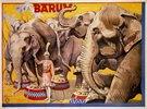 Plakat des Zirkus Bar