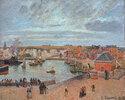 Der Hafen von Dieppe