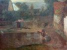 Dorfszene