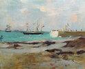 Hafeneinfahrt in Boulogne
