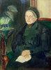 Bildnis einer älteren Dame (Emma Turck)