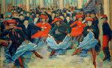 Tanzbild VIII (Can-Can Tänzerinnen bei Bullier)