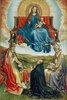 Madonna in der Glorie mit Stifter und dem hl. Petrus und Augustinus