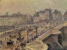 Pont Neuf, brouillard