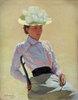 Porträt einer unbekannten Frau