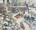 Effet de neige à Montfoucault