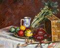 Nature morte - fruits, pichet et legumes