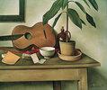 Stillleben mit Gitarre