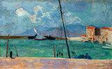 Hafen von Cannes oder Das Dreickssegel