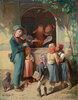 Musikant im Dorf