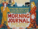 Morning Journal / Plakat