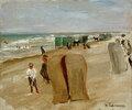 Strandszene in Noordwijk