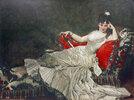 Porträt von Mademoiselle de Lancey