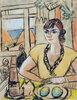 Portrait Quappi im Strandcafe