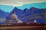 Grabbauten. Ladakh