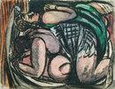 Zwei liegende Frauen