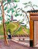 Pagode auf einem Hügel, Taiwan