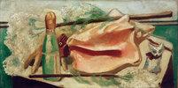 Stilleben mit rosa Muschel