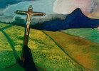 Kreuz in Landschaft