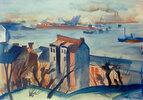 Blick über den Hafen